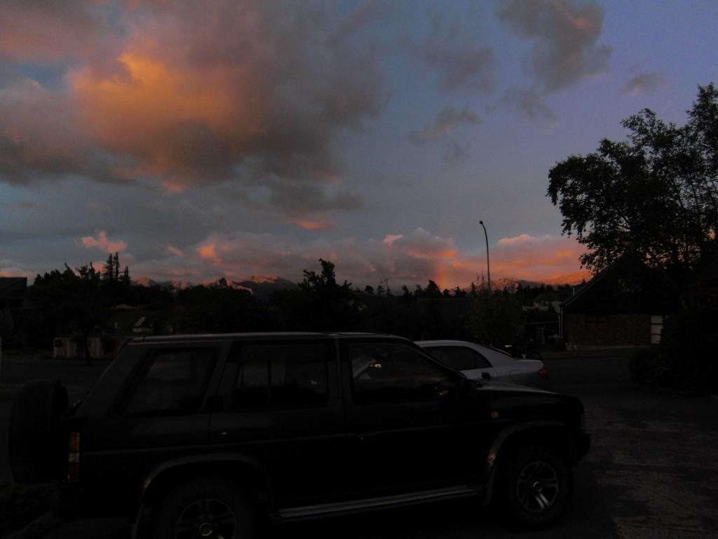 Ein toller Sonnenaufgang!