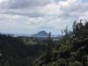 Da ist Mount Maunganui! Da war ich gestern drauf.
