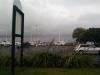 Der Hafen: Hier kann man sogar über Nacht campen!