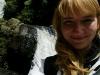 Meine Jacke und der Wasserfall sind in der gleichen Tarnfarbe gestaltet :D