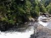Ein schönes Panoramabild vom Wasserfall