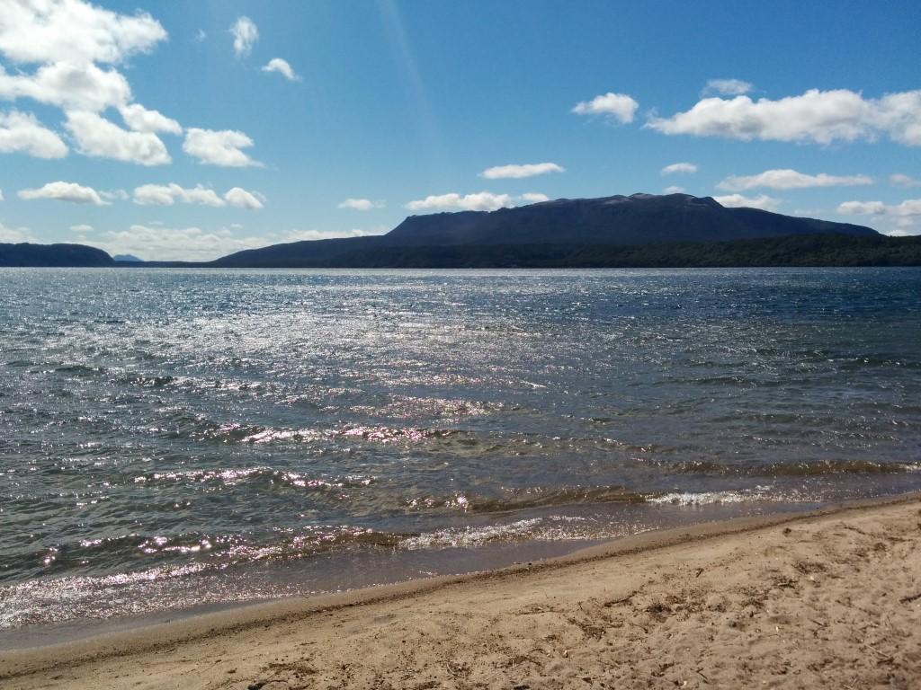 Juhuuu, ich war weit oben aber nun bin ich wieder am Strand