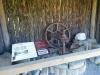Überbleibsel einer alten Mühle.