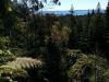 Ausblick ohne positionierte Menschen. Seht ihr den Weg? Von dieser Stelle habe ich das nachfolgende Panoramafoto gemacht.