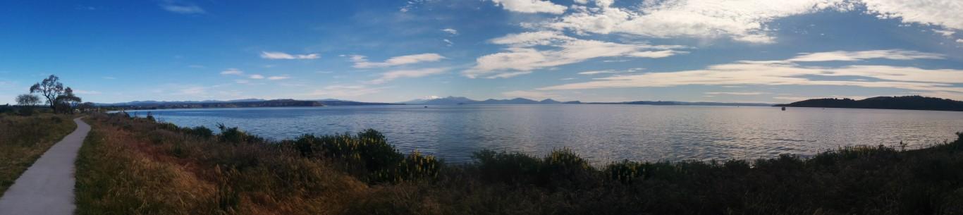 Und wieder mal das beste Wetter für solche Panoramabilder
