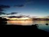 Sonnenuntergang am Taupo-See... Traumhaft.