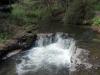 Kerosene Creek! Angekommen. Sieht ganz schön kalt aus...