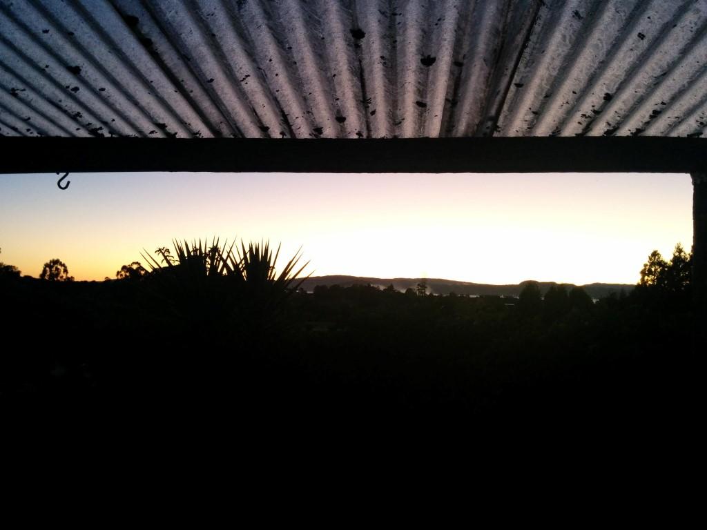 Früh aufzuwachen hat mich heute um 5:39 Uhr morgens mit einem wunderschönen Sonnenaufgang belohnt.