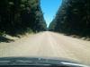 Gefühlt 10000km Gravel Road: Ein Stein-an-Auto-Konzert.