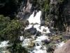 ... und habe auf dem Rückweg nochmal den Wasserfall fotografiert.
