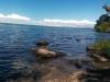 Huch, diese Aufnahme ist wohl etwas sehr schief. Aber der See war wirklich klasse anzusehen.