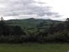 Schöner Ausblick über das Hügelland