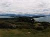 Und dieses Panorama zeigt die andere Seite. Der Berg liegt quasi direkt vor der Stadt mit noch mehr Land in allen möglichen Richtungen