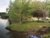 Auf diesem Panoramabild gibts wunderschöne Enten zu sehen ;) Der See war tatsächlich ganz schön.