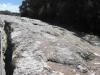 Sehr interessante Strukturen waren da in diesem Gestein.