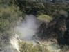 Direkt bei der Ankunft in Wai-O-Tapu: Wasser und Dampf. Zwei Dinge, die hier einfach zusammen gehören :)