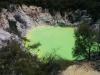 Und der limonengrüne See!
