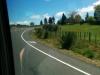 Und wie lustig die Straßen hier durch die Hügel verlaufen. Immer in Kurven, hoch und runter. Tolles Achterbahnfeeling!