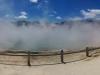 Auf diesem wundervollen Panorama sieht man super, wie undurchdringlich der Dunst ist! Die Menschen werden ja regelrecht verschluckt.