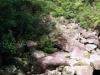 Hier sieht es so aus, als ob der Fluss gar kein Wasser führen würde (laut war es trotzdem genug!)