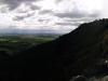 Panorama direkt an der Klippe.
