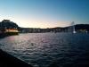 Ankunft in Wellington bei untergehender Sonne. Romantisch!