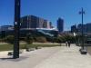 Dort ist das Te Papa-Museum. Gewaltig groß.